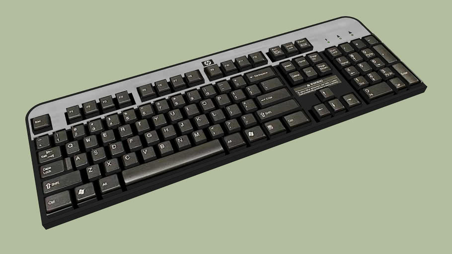 HP PS/2 Standard Keyboard (DT527A)