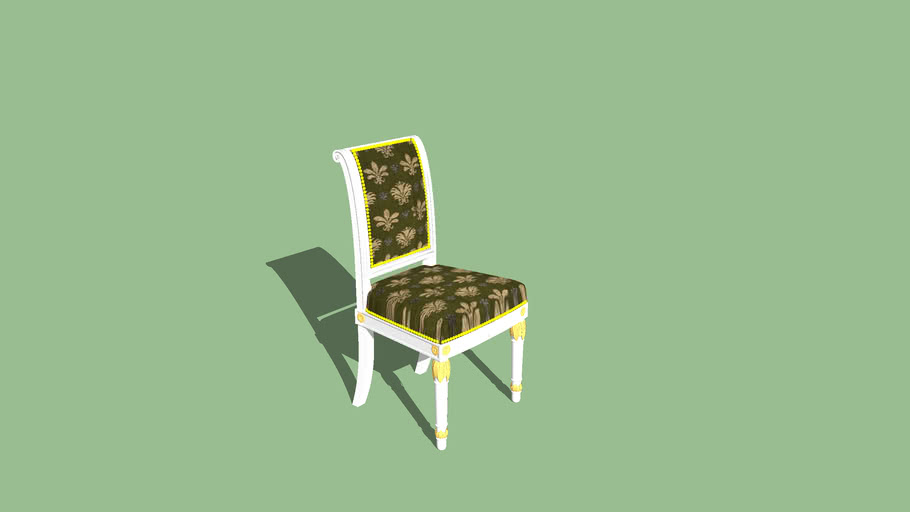 Impero style chair