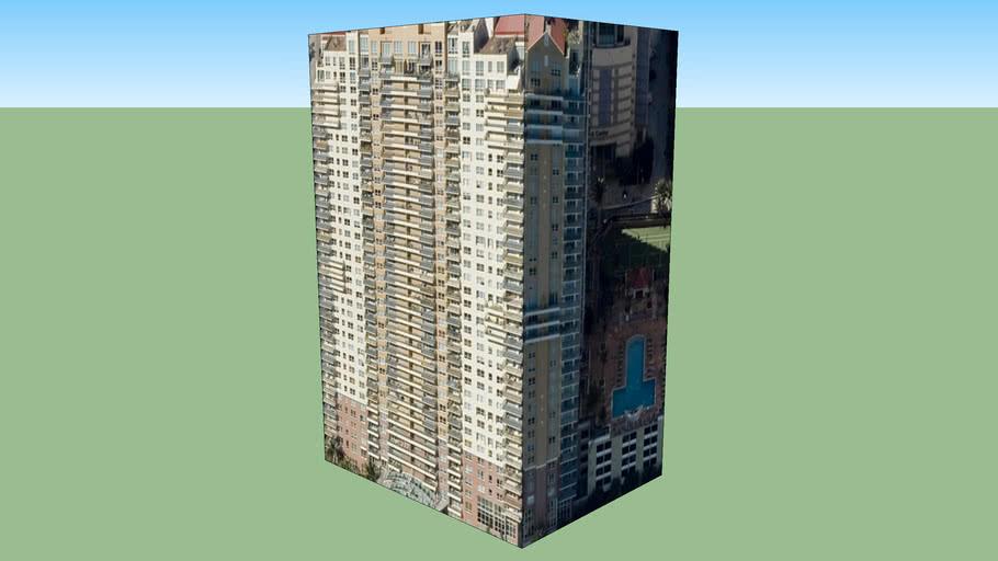 Construção em Miami, Florida, EUA