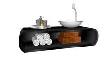 Bathroom l furniture