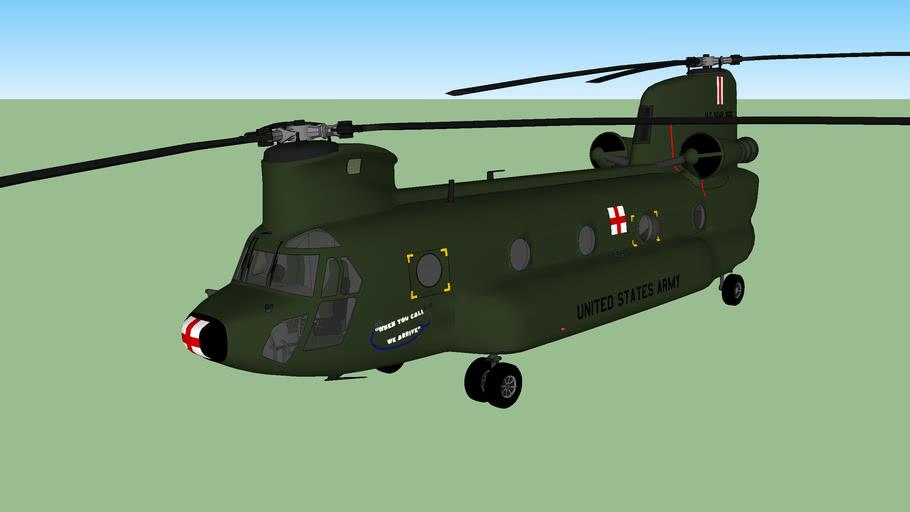 Boeing CH-47 Chinook MEDEVAC (1962-1975)