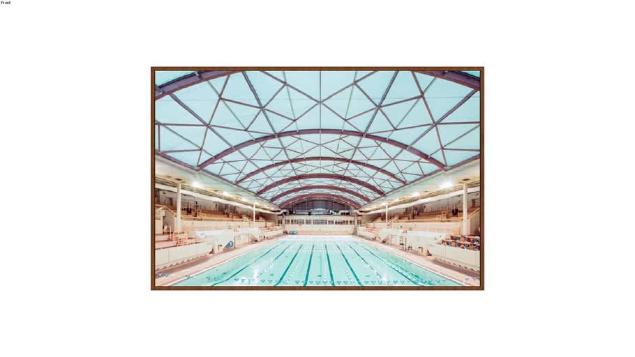 ARTIMAGE - The George Vellerey Swimming - Paris - 143 x 213 cm