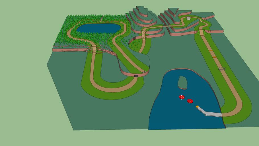 Mario Kart Custom Track Idea - Toad Valley (v1.3)
