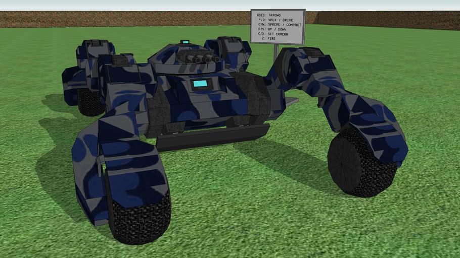 "Combat Tank ""TachiDrone"""