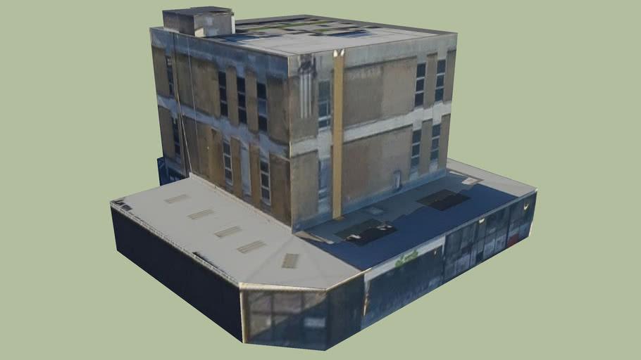 Building in Shoreditch, London, UK