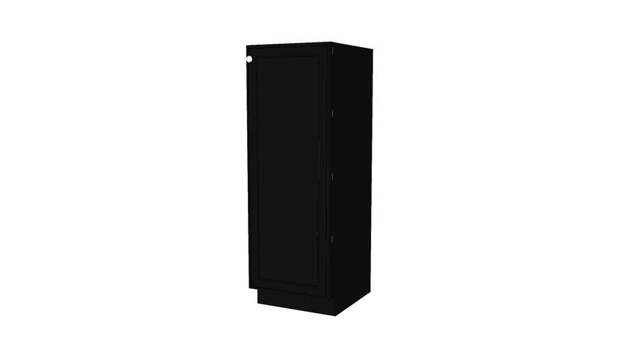 Tall Cabinets - Harrington Maple Onyx Dark by KraftMaid® Cabinetry