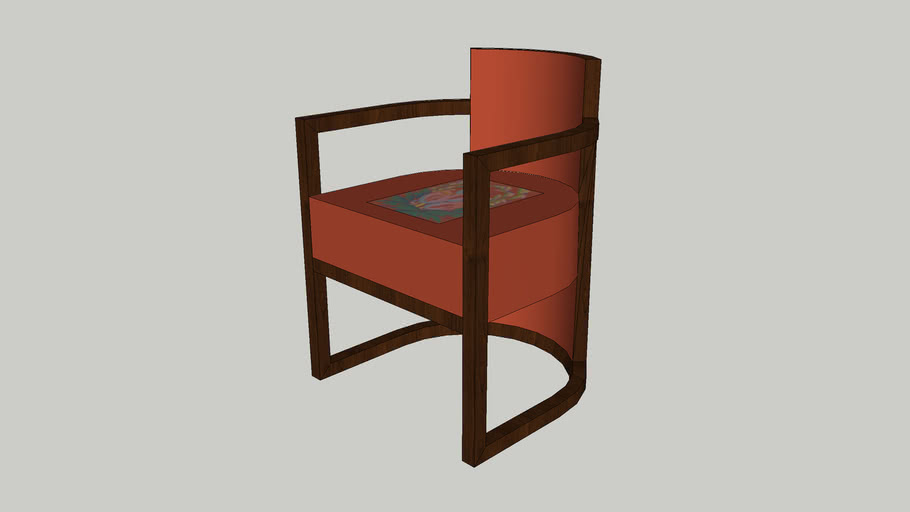 Art Deco Lounge/Dining Chair