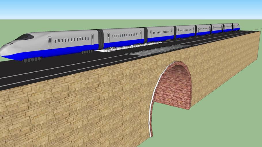 pont et train
