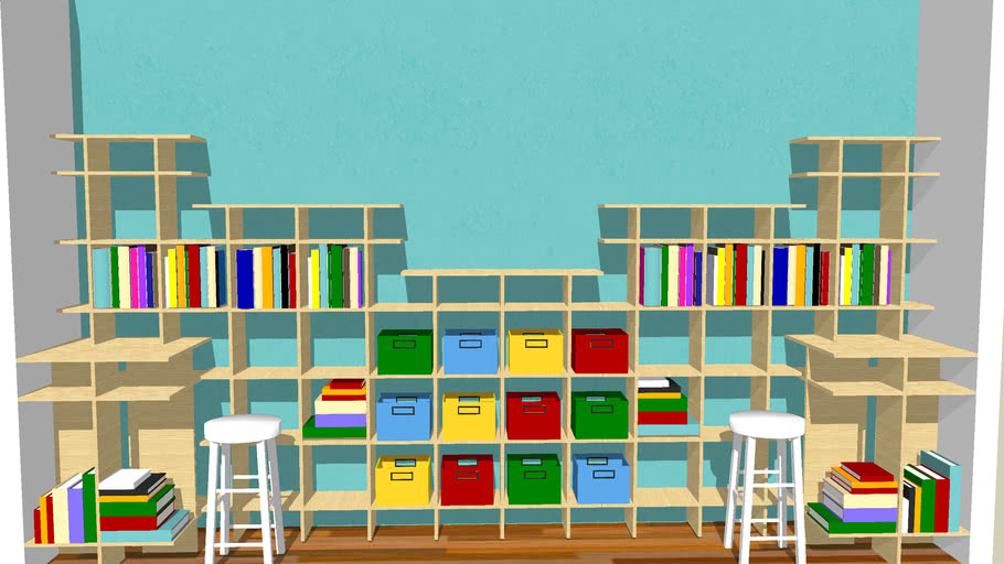 Children S Closet Organization Design 3d Warehouse