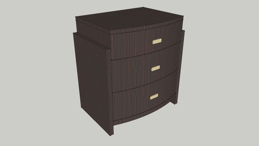 Thomasville Ave A 3 Drawer Leah Night Stand