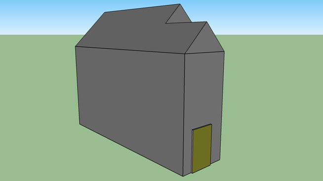 A quick and bad model of a house