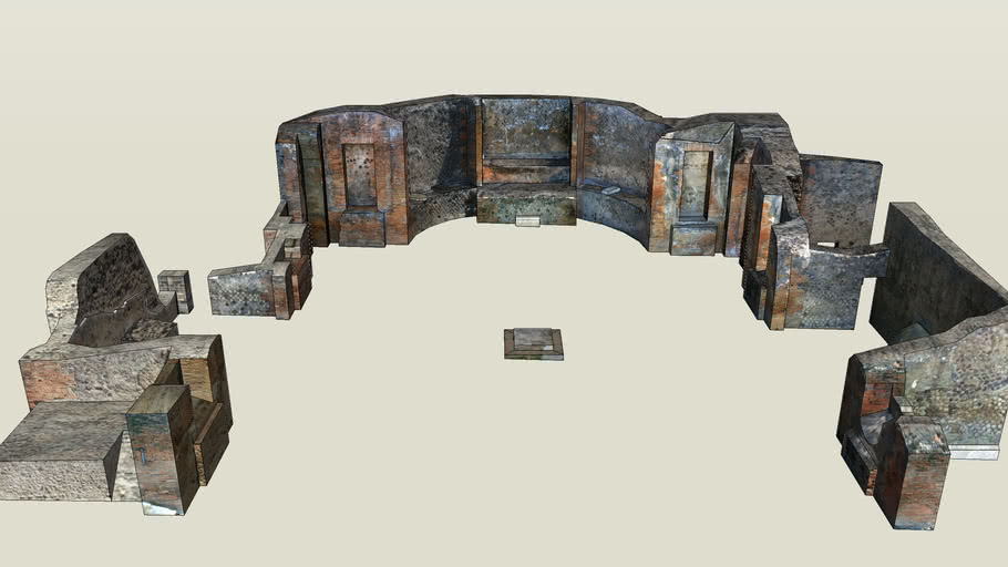 Pompeii Imperial Cult Building