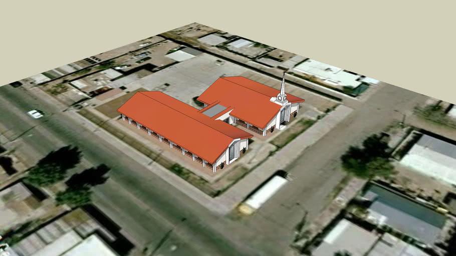 LDS. Capilla Centro de Reunion Mormon,Mexicali, BCN. Mexico.