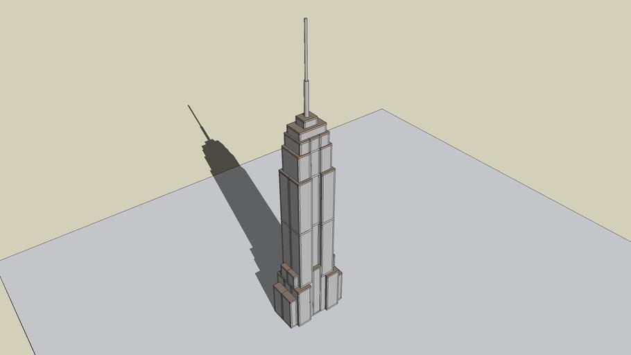 Destructable Empire State Building (Requires SketchyPhysics)