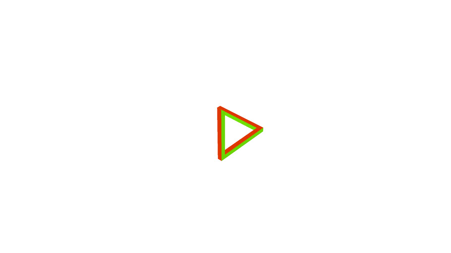 Colorful Triangle Illusion