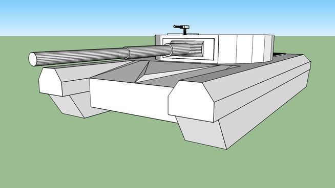 large heavy tank