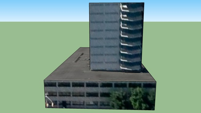 Building with parking in Ottawa, ON, Canada