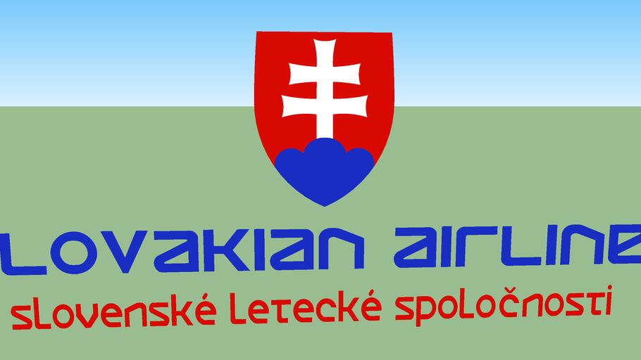 Slovakian Airlines (2012 [FICTIONAL]) - Logo