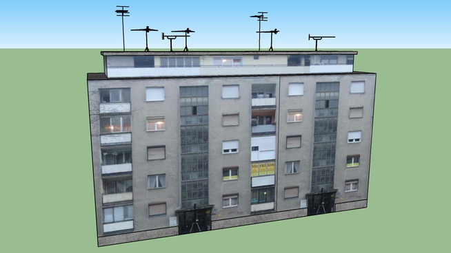 Zgrada u Vojvođanskoj- Novi Sad