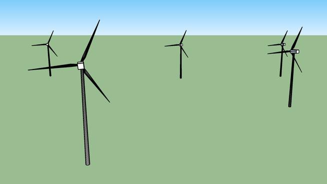 wind turbines at lajta