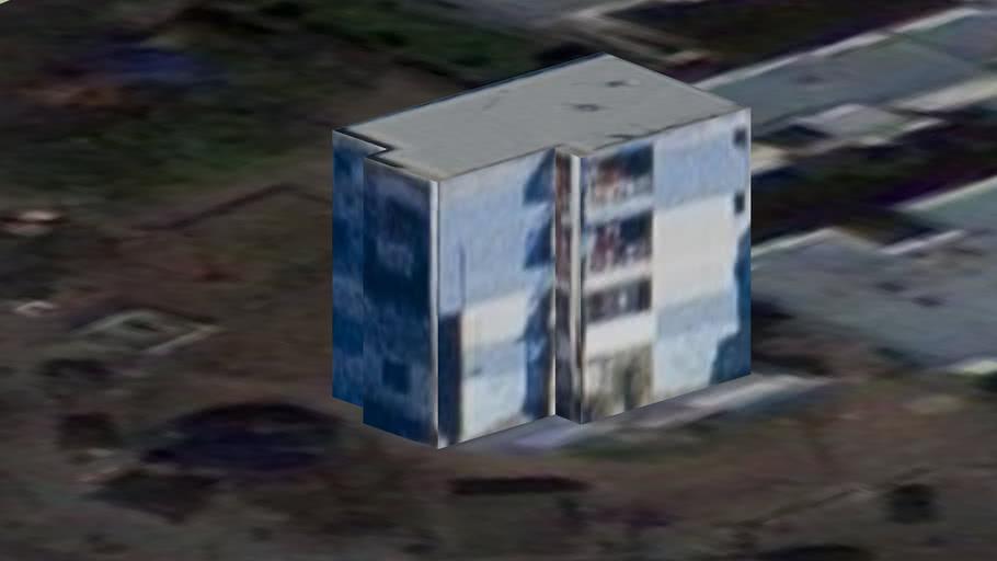 Edificio en el barrio Soldati