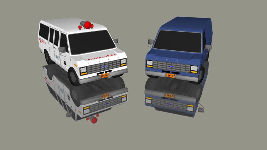1979 FORD ECONOLINE 150 ( Un Año Haciendo Vehiculos)