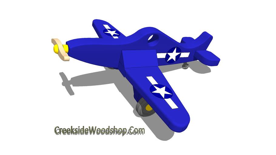 F4U Corsair Toy Airplane