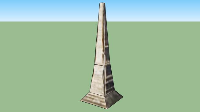 Oakland Cemetary Obelisk, GA, USA