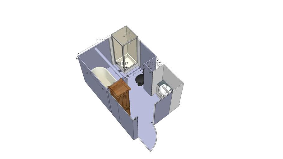 mahon bathroom 3d