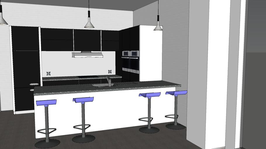 Kitchen set new