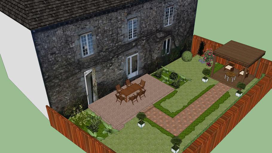 2020 Jardin Maison Centre Bourg 3d Warehouse