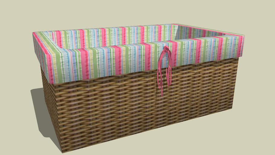 Basket and bow