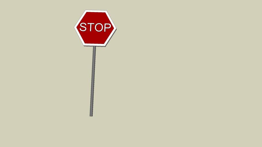 Panneau STOP ,Panel STOP