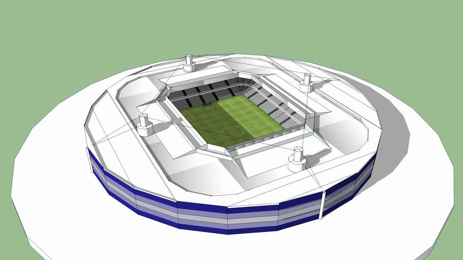 Modern stadium