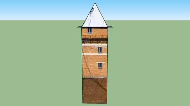 3D Башня в Беркаките