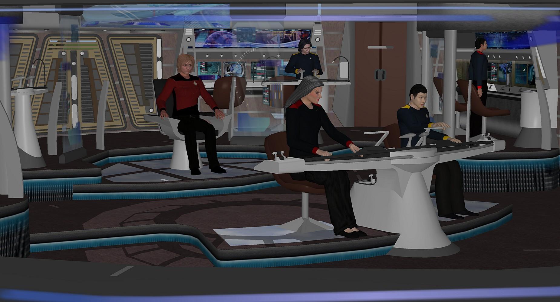 Star Trek Temporal Rift the Series