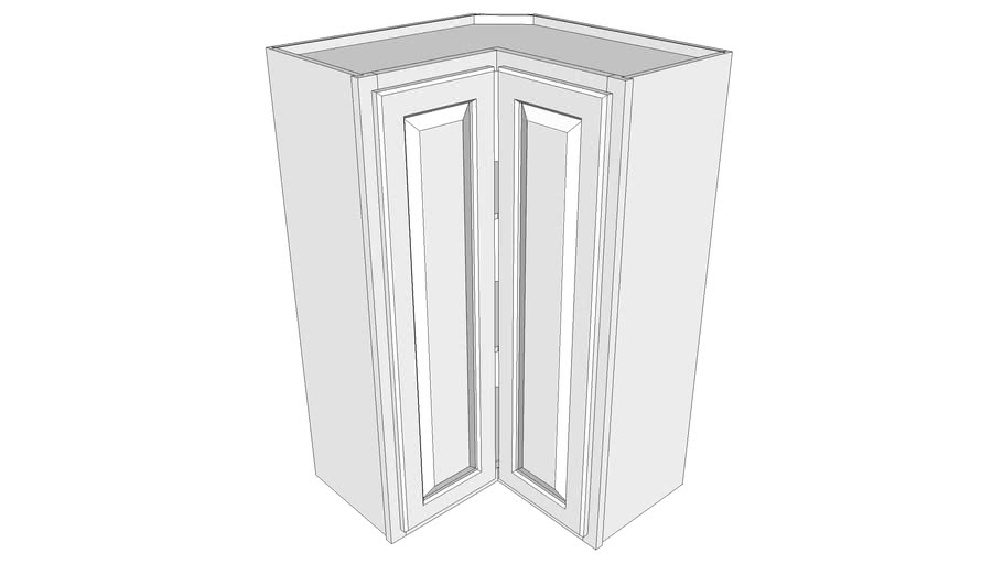 Briarwood Wall Cabinet SCW2439 - Square Corner Wall