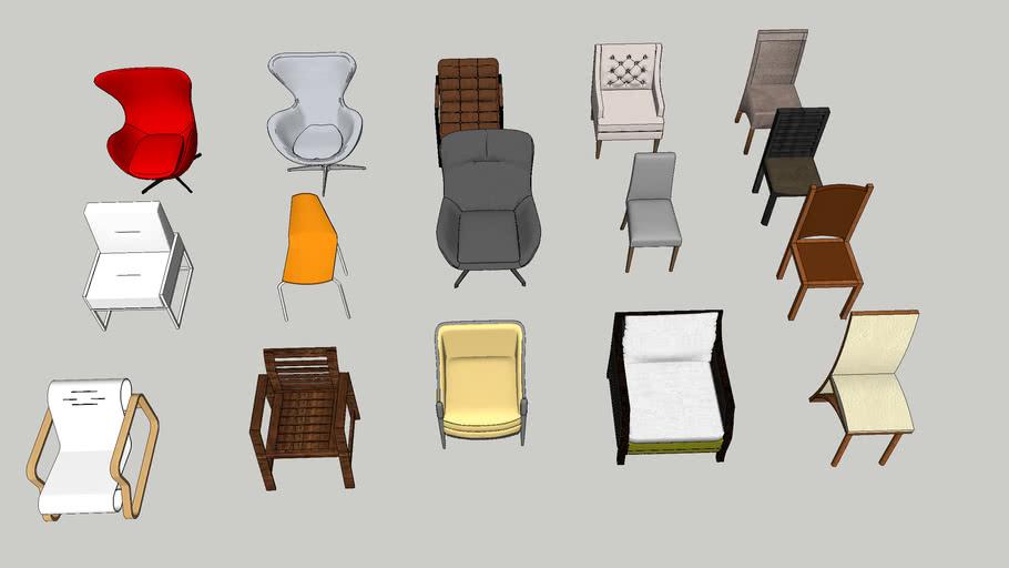 кресло крісло armchair sillón 椅子