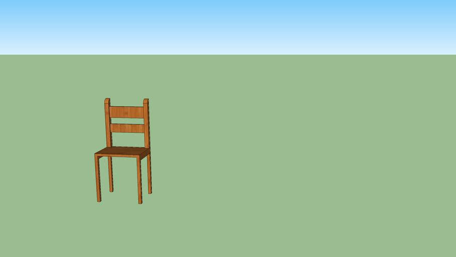 Silla de madera I