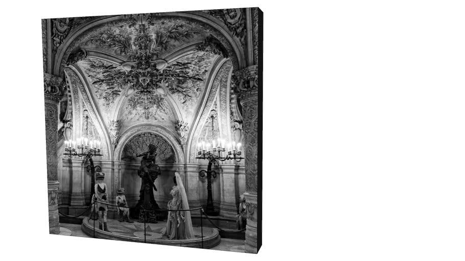Quadro Dorival Moreira - Coleção Paris Inside 09