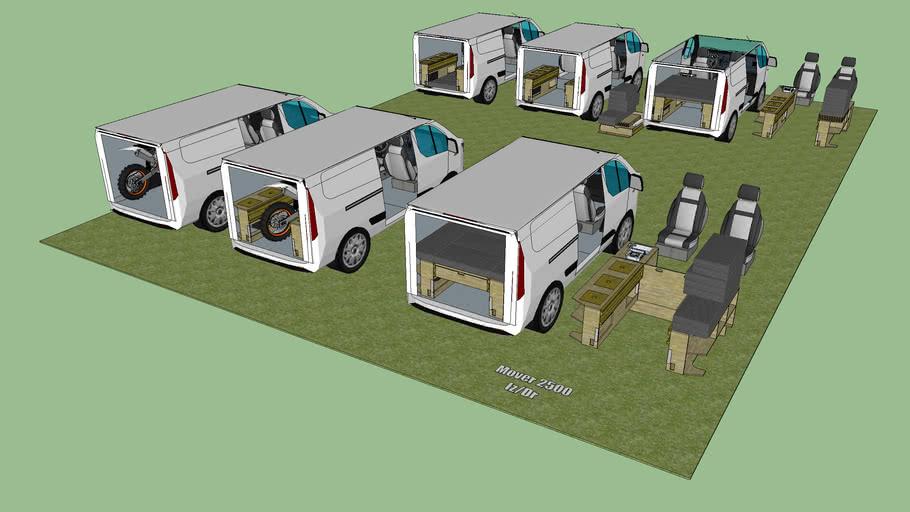 Ford Transit Custom L1 H1 Camperizada