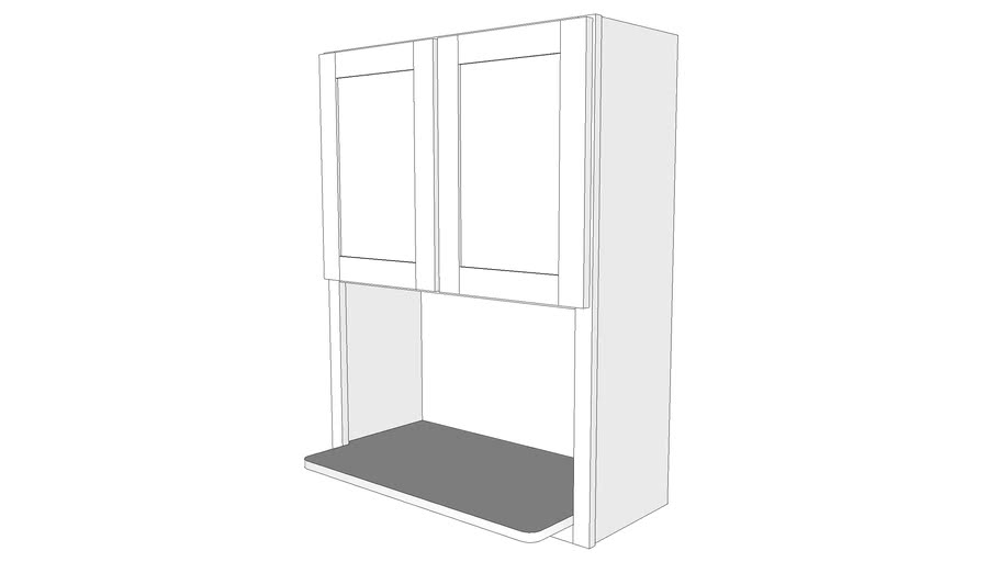 Bayside Wall Cabinet Pmw3039