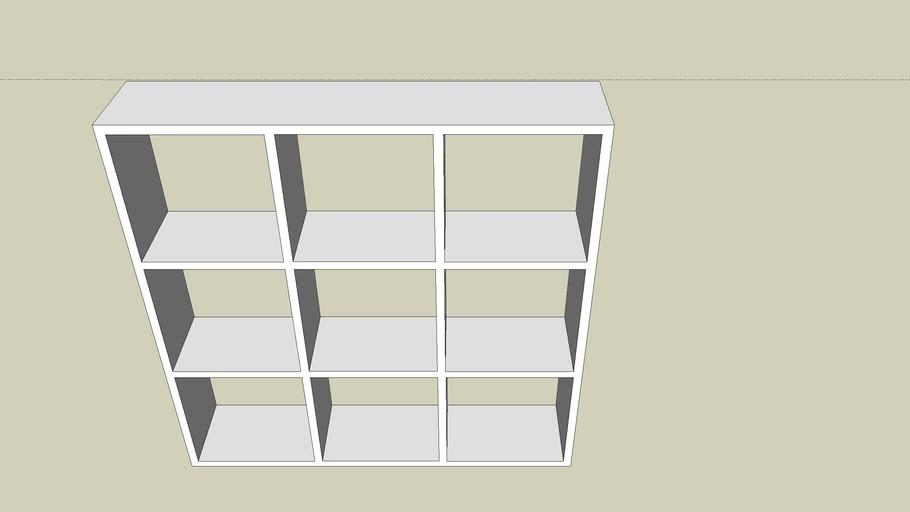 Ikea Expedit 3x3