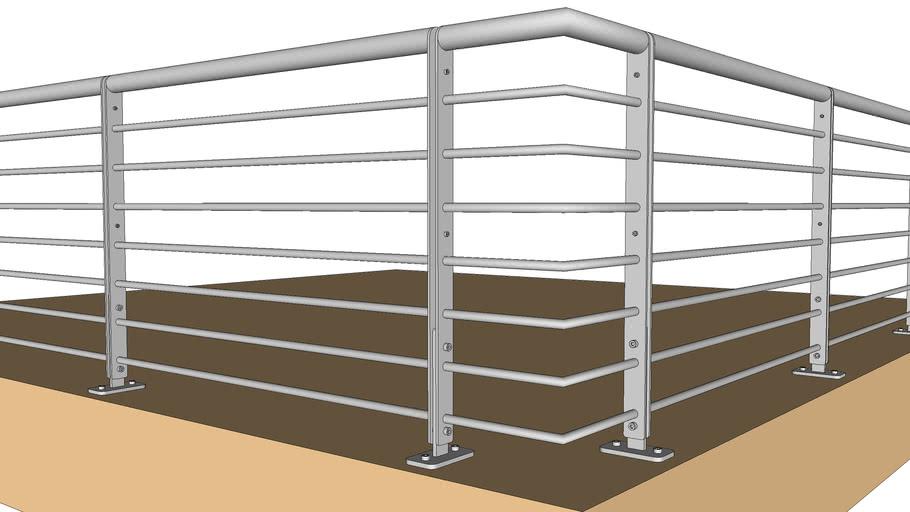 Steel Studio USA Residential Horizontal System Top Mount