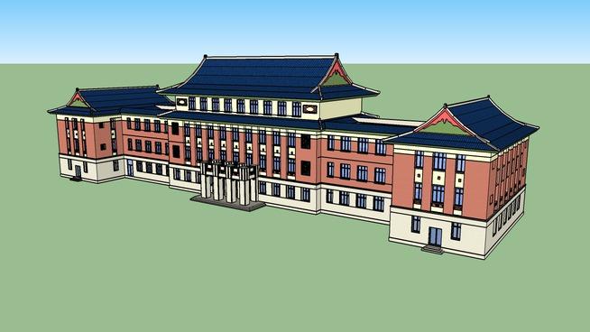 北京建筑大学科研楼