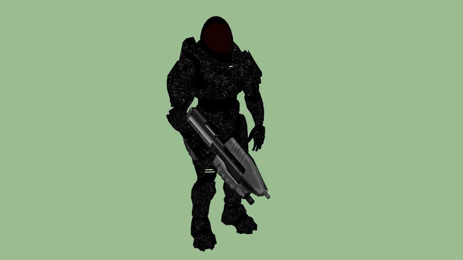 Night time Camo Juggernaut (HALO)