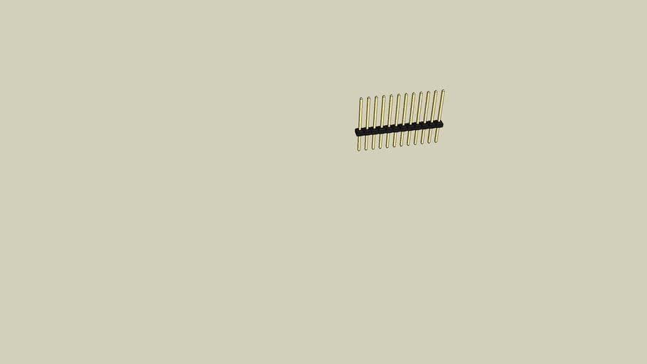 """MOLEX C-Grid® Series Single-Row Breakaway Headers (.100"""")"""