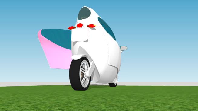 Lit Motor  Car Vietnam version 1 - Xe điện tự cân bằng based on con quay hồi chuyển
