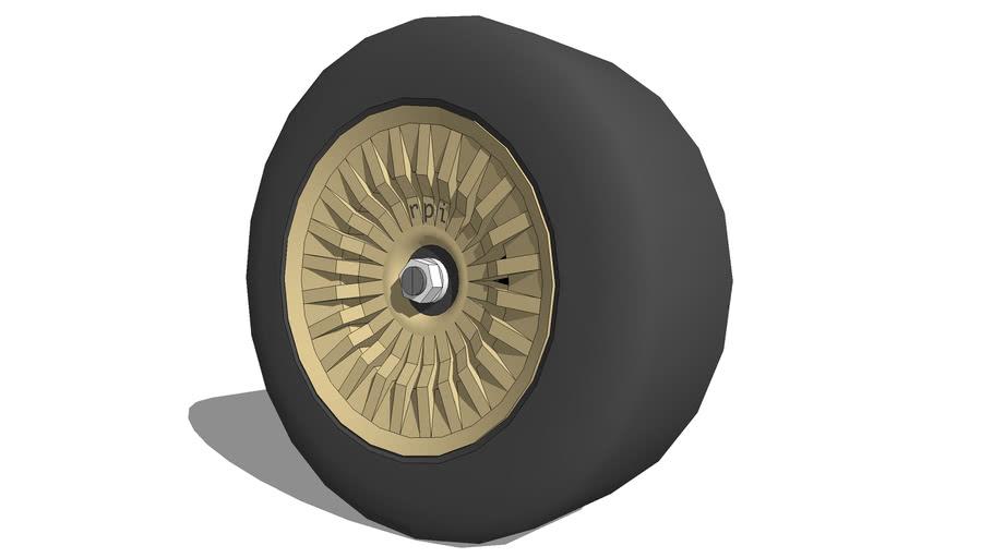 RPI Twenty-four-Spoke Rally Wheel
