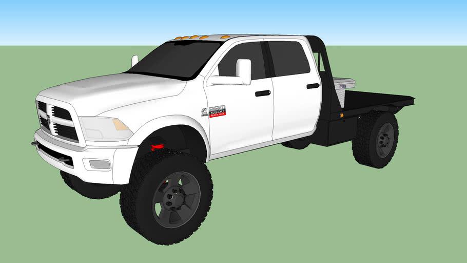 Dodge Ram 5500 Cummins Turbo Diesel Heavy Duty Work Truck (Flat Bed)